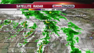 Tracking Evening Showers & Thunderstorms
