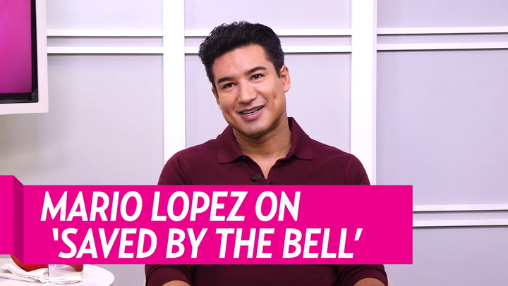 Mario Lopez Says He's 'Maintained Friendships' With the Entire 'Saved by the Bell' Cast