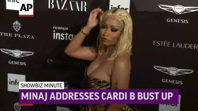 ShowBiz Minute: Minaj, Cosby, US Box Office