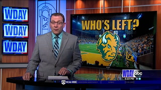 NDSU open spring practice with several banged up