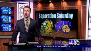 Bison men roll past Western Illinois