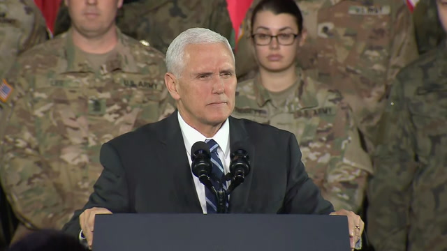 Pence to troops in Poland: 'We will defend our freedom'