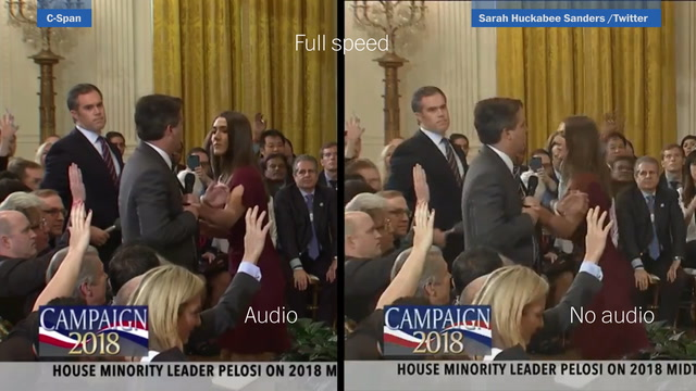 Watch two versions of Acosta video side-by-side