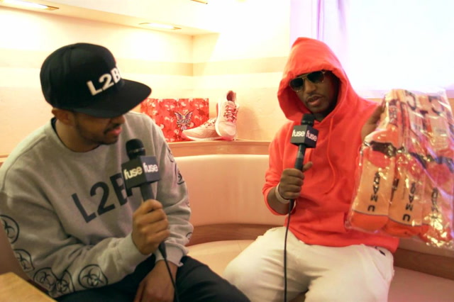 Cam'ron Unveils The All-Pink Fleebok 2