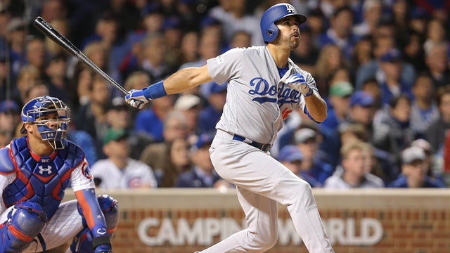 Andre Ethier's solo home run ties the game for Los Angeles