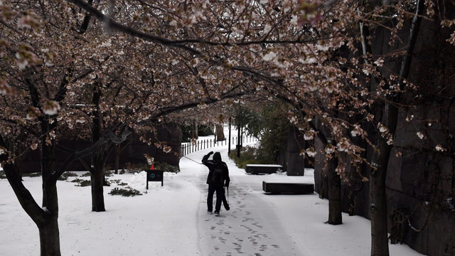 A major snowstorm is headed to D.C. area