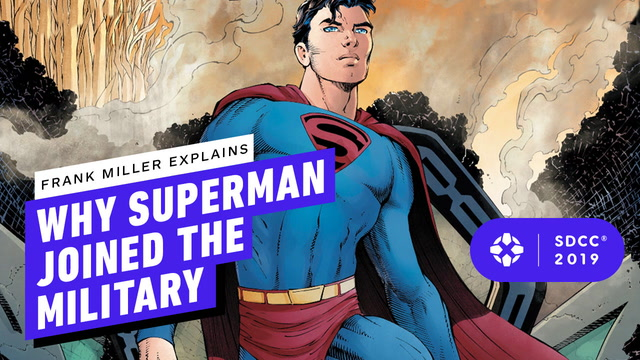 Superman Year 1: Frank Miller Explains Why Superman Had to Join The Military
