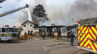 Pine River church fire