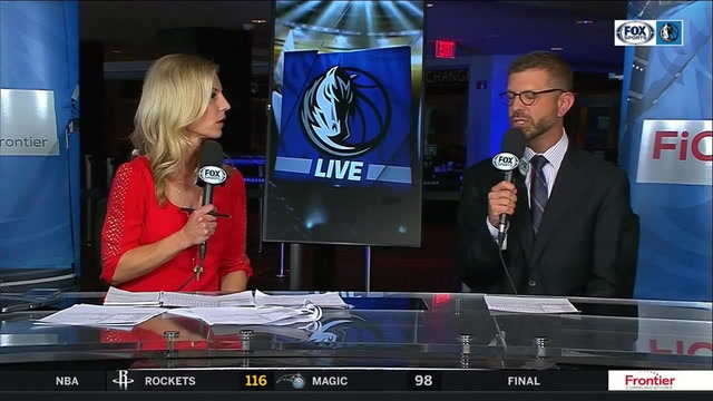 Mavs so close to pulling off the 'Dub' over the Warriors | Mavs Live