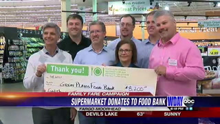 Family Fare raises $8,200 for Great Plains Food Bank