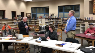 Johnson takes oath of office for Morris Area School Board