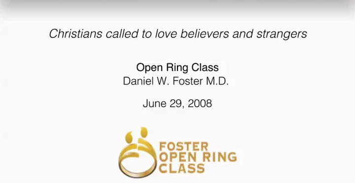 Christians called to love believers and strangers
