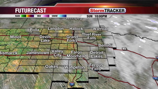 Tracking a Little Light Snow for Monday