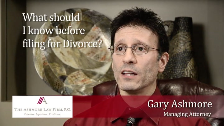 What should I know before filing for Divorce?