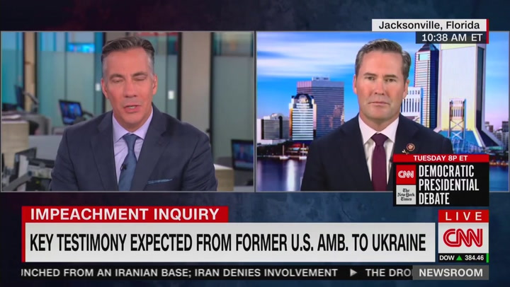 GOP Rep. Michael Waltz Invokes Insane 'CrowdStrike Server' Conspiracy to Justify Trump's Ukraine Call