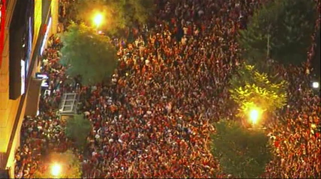 Raw: DC Celebrates as Capitals Win Stanley Cup