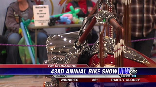 Many showcase their passion at annual bike show