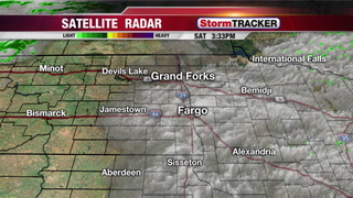 Few Evening T-storms Up North