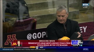Don Lucia out as Gophers men's hockey coach, school announces