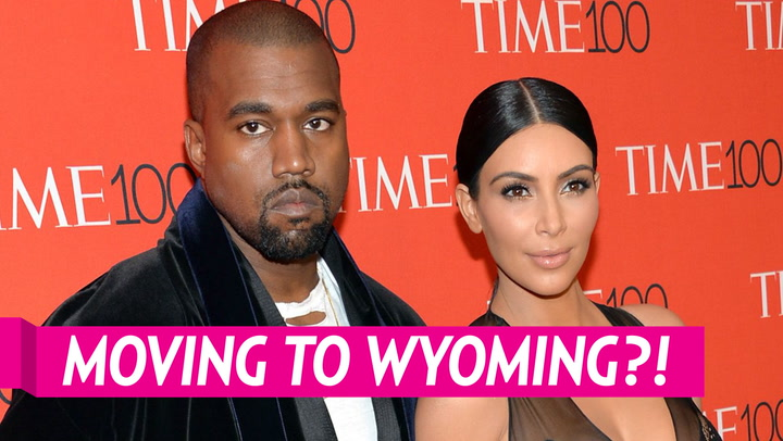 Kim Kardashian and Kanye West Enjoy a Cookout With Their Kids During Wyoming Trip