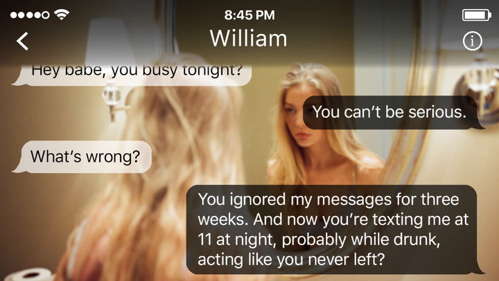 Send These Texts When He Tries To Come Back Into Your Life Like He Never Left