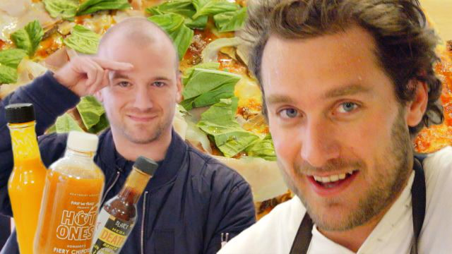 Brad and Sean Evans Make Cast-Iron Pizza