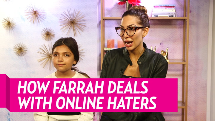 How Farrah Abraham and Daughter Sophia, 10, Deal With Social Media Critics: We Don't 'Block the Negativity'