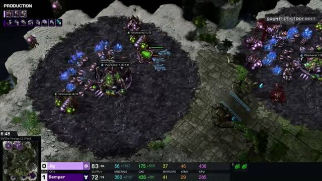 PSISTORM Gauntlet Tournament Highlight - Semper VS Jig Filthy Cup Game 2 and 3