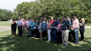 M.B. Johnson Park Ribbon Cutting