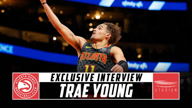 Hawks All-Star Trae Young Sits Down With Shams Charania