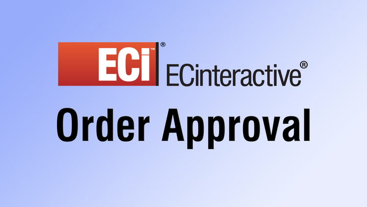 Order Approval for Online Shopping