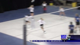 LaMoure-LM aims for third straight Class B volleyball title