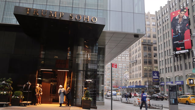 Trump SoHo hotel will drop 'Trump' from its name