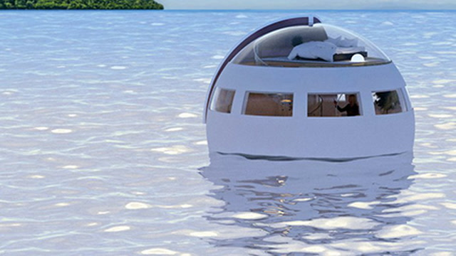 Try Out These Floating Hotel Rooms in Japan