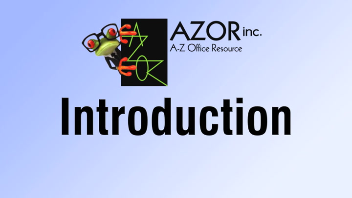 Introduction video for shop.AZORinc.com | A-Z Office Resource