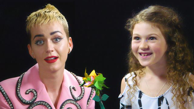 Katy Perry Gets Interviewed by a 7-year-old