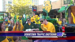 New route for NDSU homecoming parade