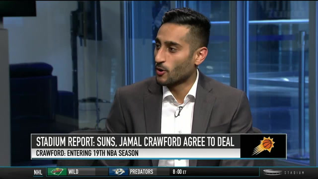 Shams Charania: Suns, Jamal Crawford Agree to Deal