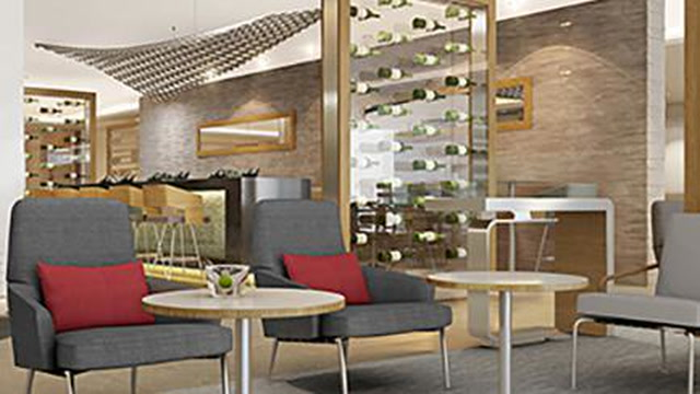 Relaxing in the Newest Airport Lounges