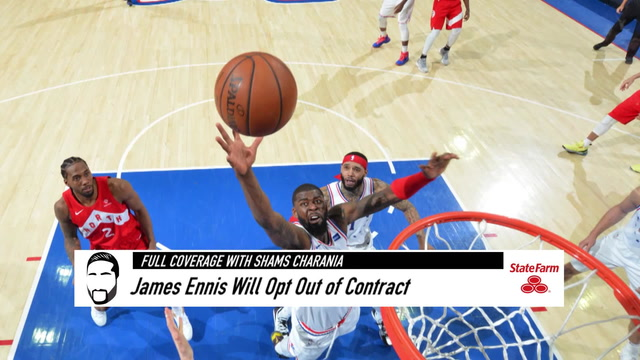 James Ennis to Decline 76ers Player Option, Become Free Agent