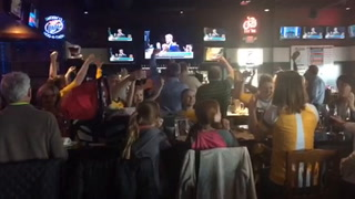 Fans react to Eagles taking Carson Wentz at Wild Hog in Grand Forks