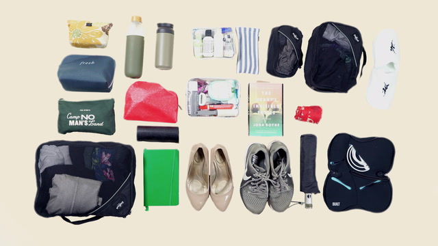 A suitcase that sparks joy: How to pack like Marie Kondo