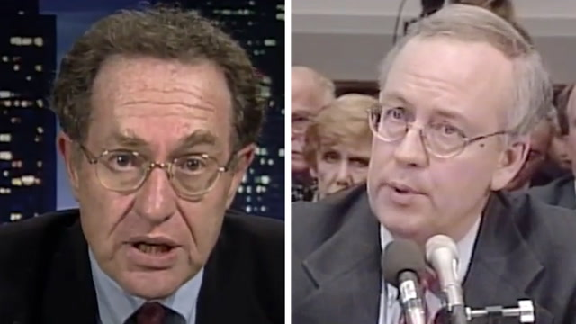 What Alan Dershowitz and Ken Starr used to say about impeachment