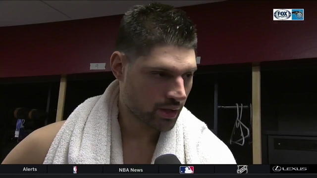 Nikola Vucevic felt the Magic got back to 'team basketball' in win over Cavaliers