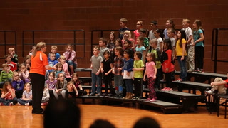 Morris Area first graders perform