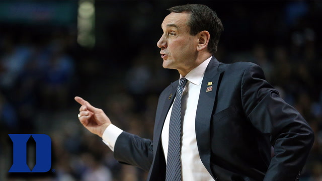 Duke Basketball Expectations: Coach K's Take