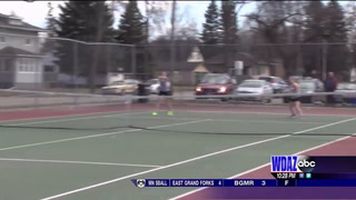 EDC girls tennis: G.F. Central takes care of business against Fargo North
