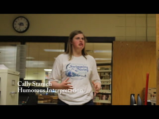 Pieces of Pieces: Hermantown Speech Students