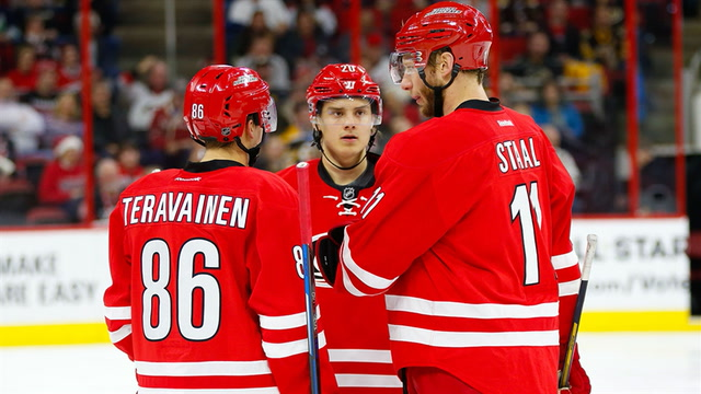 Sounding Off: Dissecting success of Hurricanes' first line
