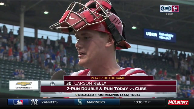 Carson Kelly: 'It feels great' to immediately contribute to Cardinals